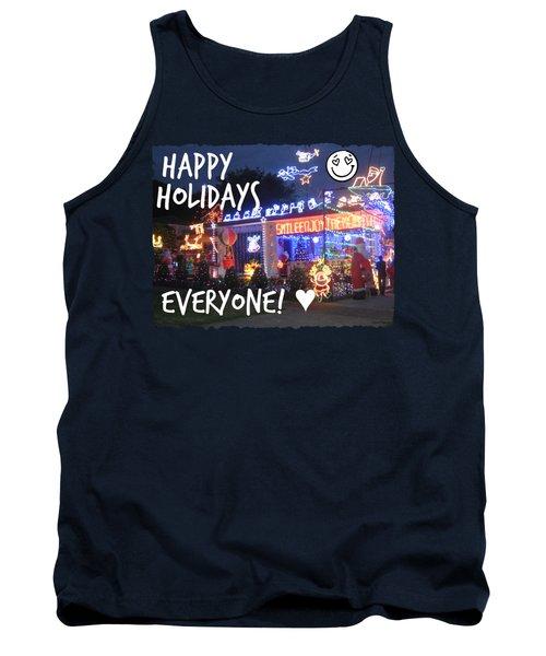Happy Holidays Tank Top