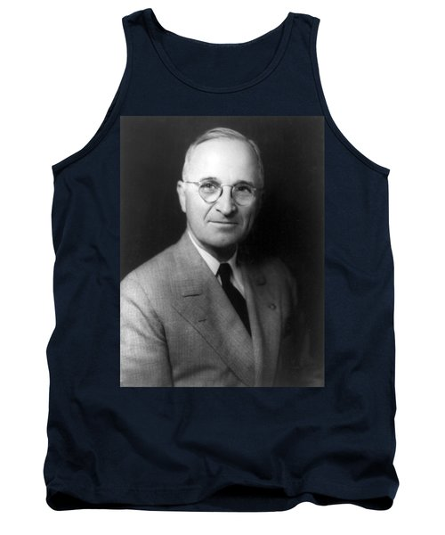Harry S Truman - President Of The United States Of America Tank Top