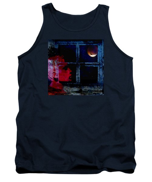 Tank Top featuring the photograph Harvest Moon by LemonArt Photography