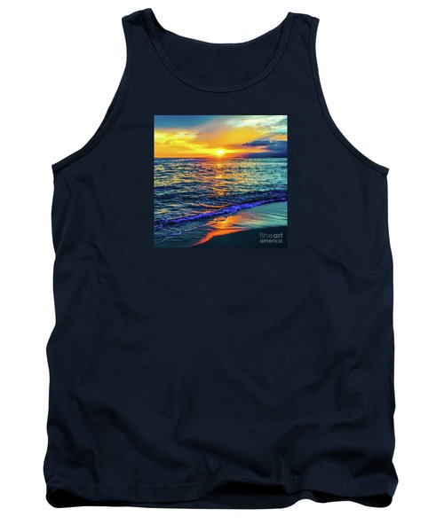 Hawaii Beach Sunset 149 Tank Top