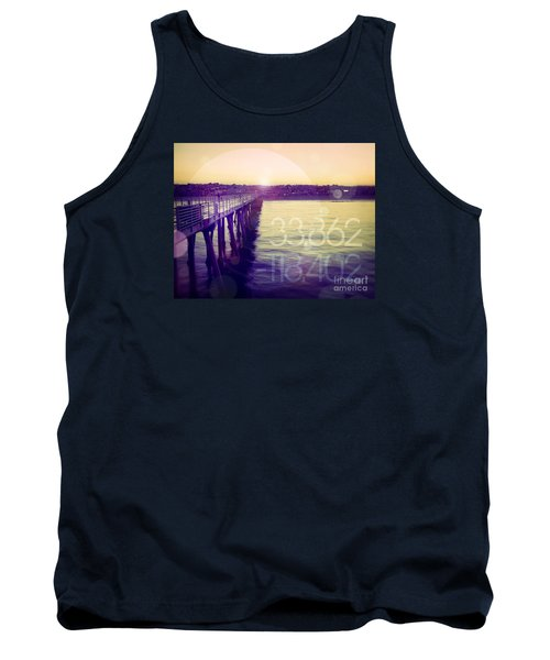 Tank Top featuring the photograph Hermosa Beach California by Phil Perkins