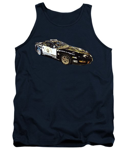 Highway Interceptor Art Tank Top