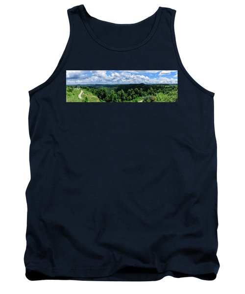 Hills And Clouds Tank Top