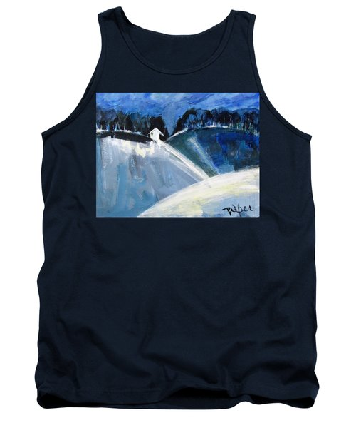 Hillside In Winter Tank Top