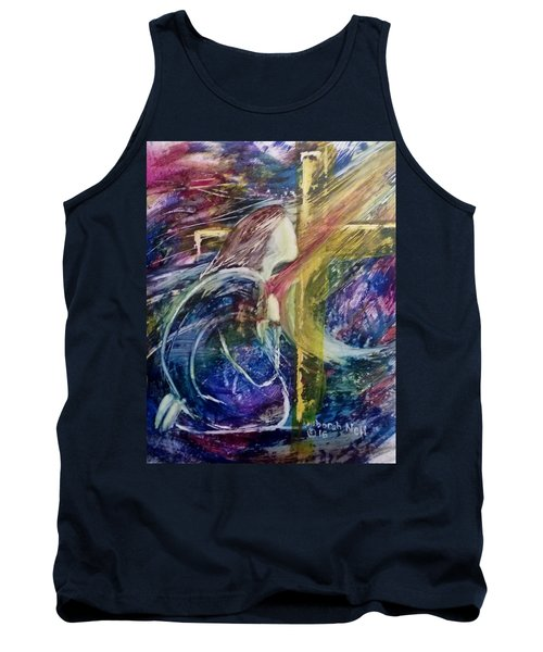 His Grace Is Over Me Tank Top