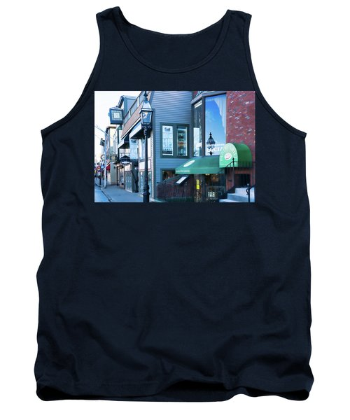 Historic Newport Buildings Tank Top