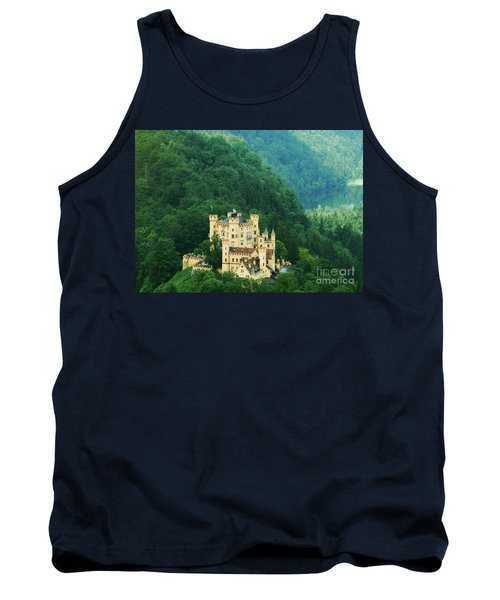 Tank Top featuring the photograph Hohenschwangau Castle 1 by Rudi Prott
