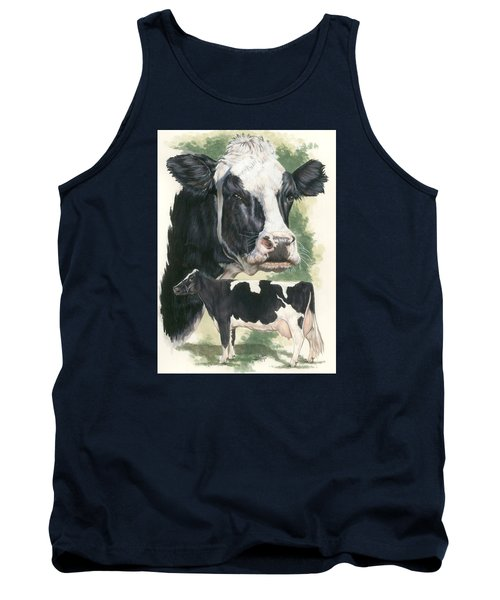 Holstein Tank Top by Barbara Keith