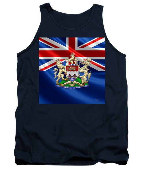 Hong Kong - 1959-1997 Coat Of Arms  Tank Top