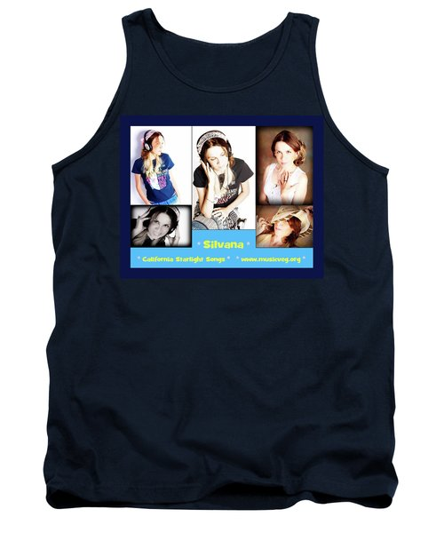 Hot Off The Presses Tank Top by Silvana Vienne