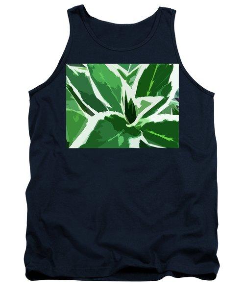 Hydrangea Tank Top