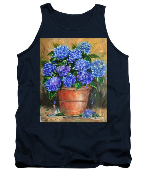 Hydrangeas In Pot Tank Top