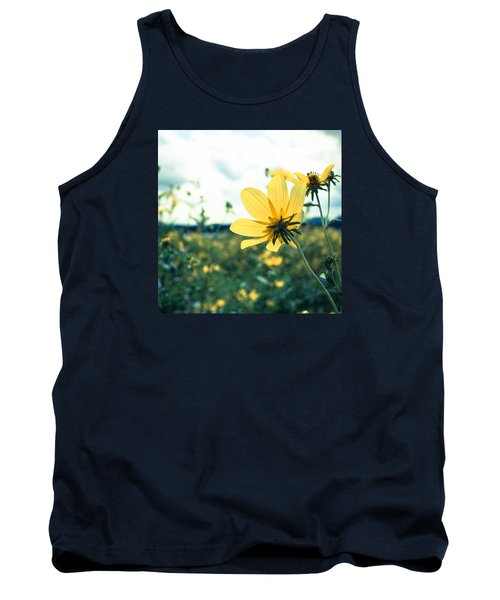 Tank Top featuring the photograph I Am Feeling Pretty Good And That Is The Truth by Wade Brooks
