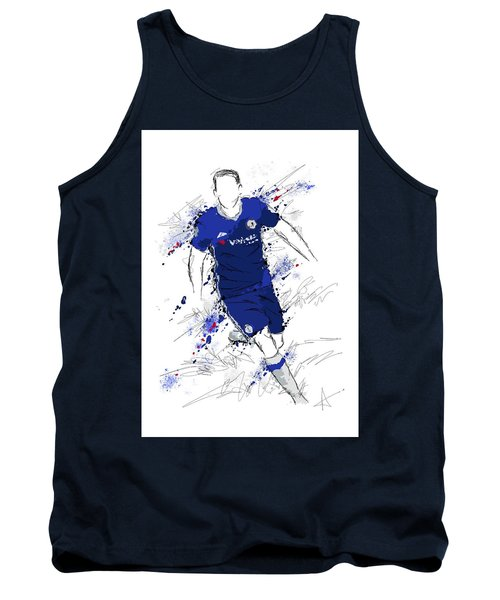 I Am Royal Blue Tank Top