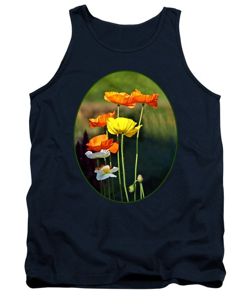 Iceland Poppies In The Sun Tank Top