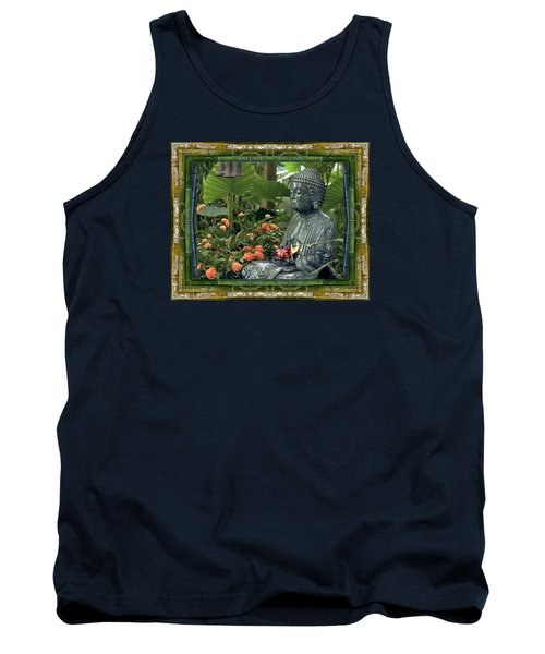 Tank Top featuring the photograph In Repose by Bell And Todd