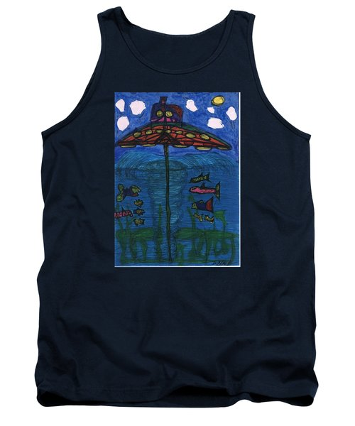 In Search Of Life Tank Top by Darrell Black