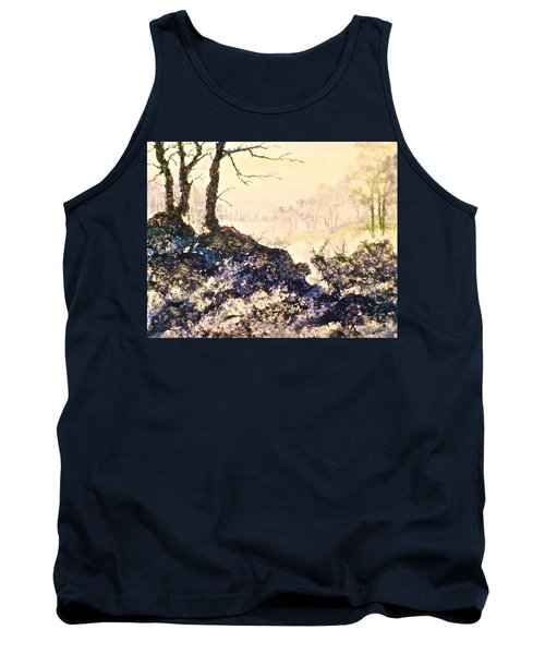 Tank Top featuring the painting In The Distance by Carolyn Rosenberger