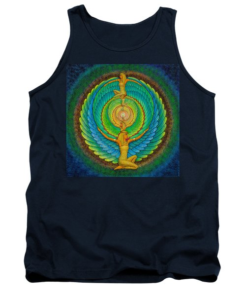 Infinite Isis Tank Top by Sue Halstenberg