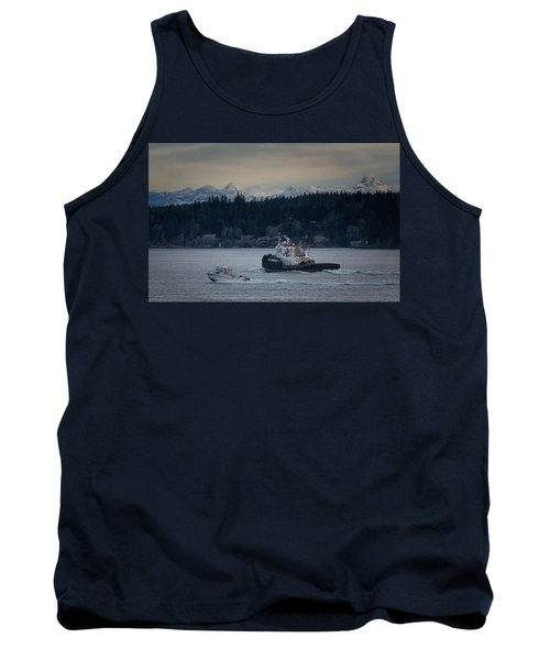 Tank Top featuring the photograph Inlet Crusader by Randy Hall