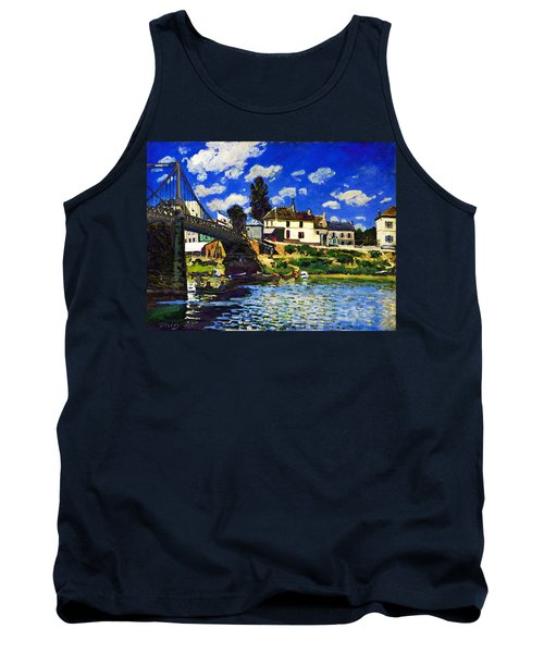 Inv Blend 14 Sisley Tank Top by David Bridburg