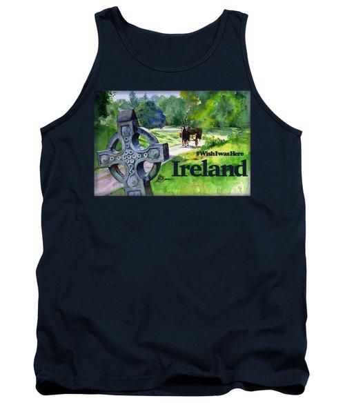 Ireland Shirt Tank Top