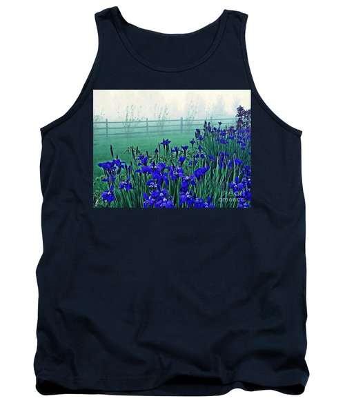 Irises At Dawn 3 Tank Top