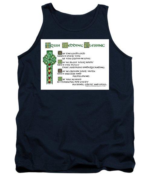 Irish Celtic Wedding Blessing Tank Top