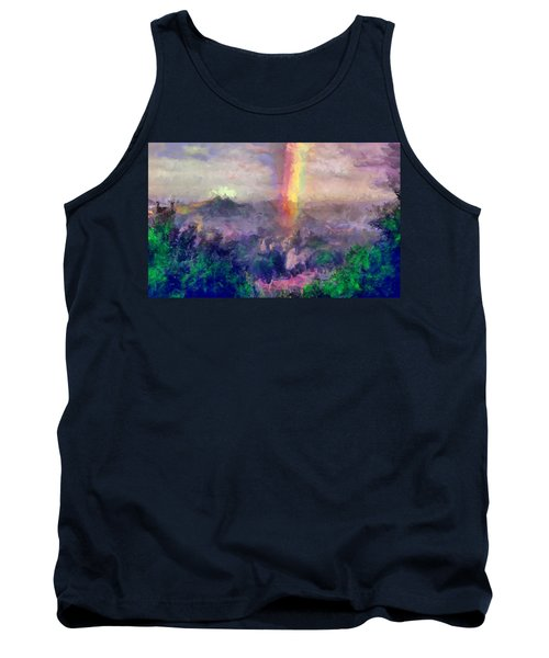Irish Rainbow Tank Top
