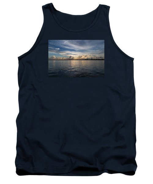 Island Horizon Tank Top by Christopher L Thomley