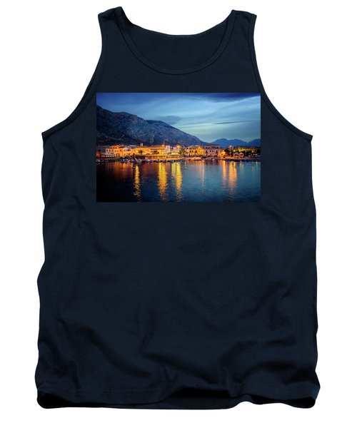 Isola Delle Femmine Harbour Tank Top by Ian Good