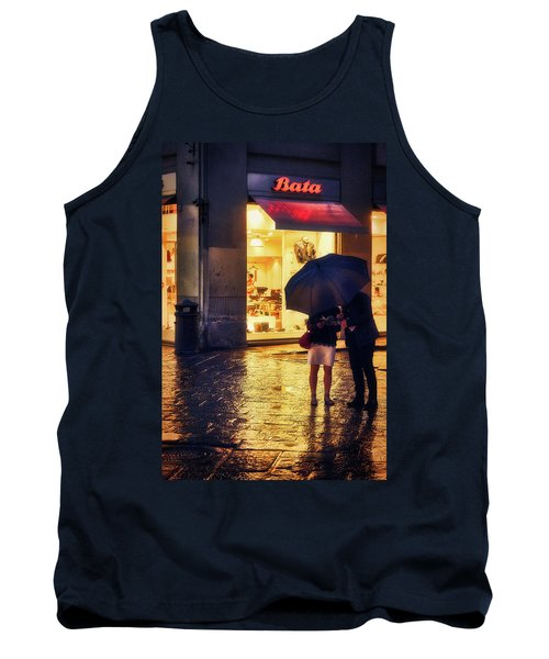 It Is Raining In Firenze Tank Top