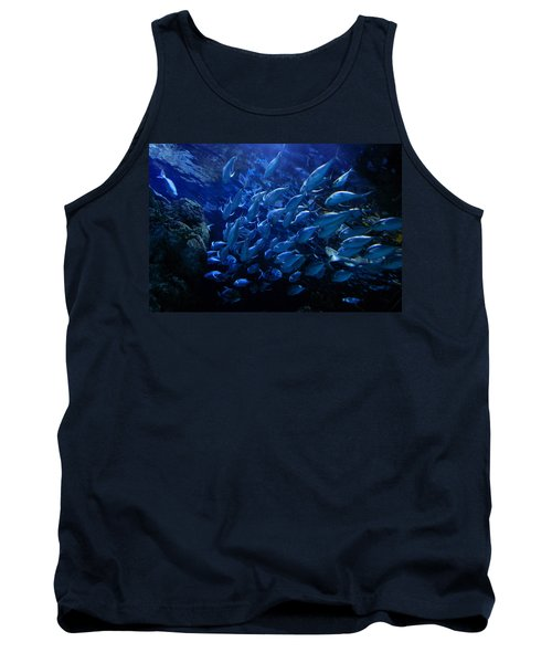 Tank Top featuring the photograph It's Time For School by Linda Unger