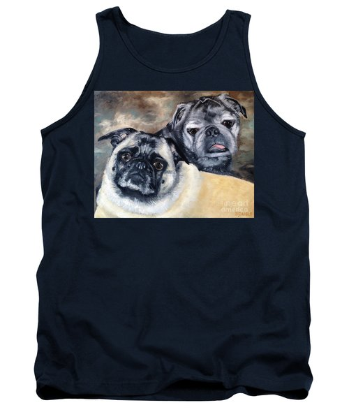 Jack And Bella Tank Top by Diane Daigle