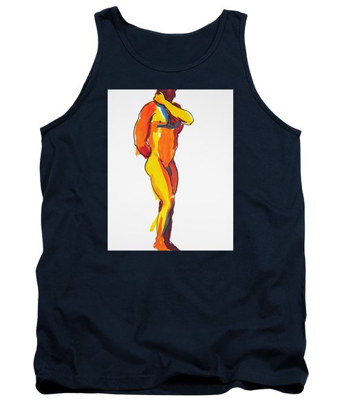 James Classic Pose Tank Top by Shungaboy X