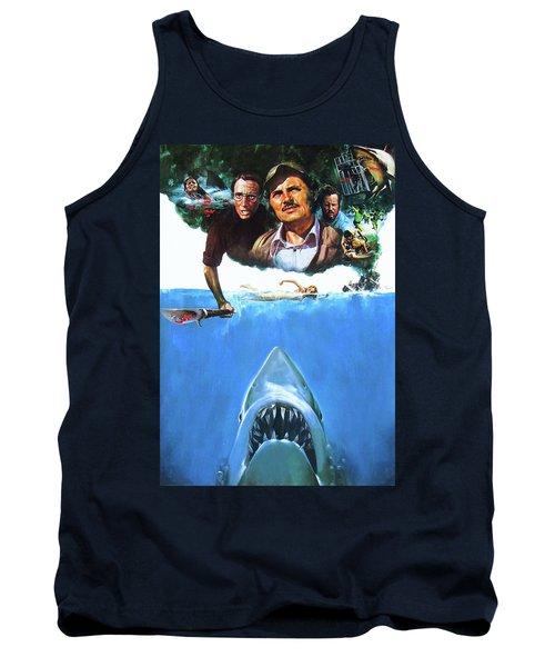 Jaws 1975  Tank Top