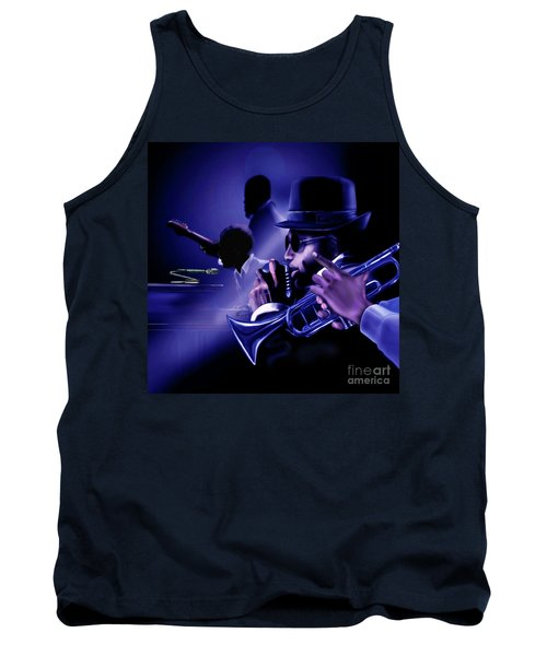 Jazz In Da Dusk Tank Top