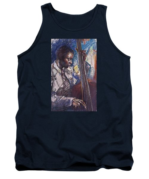 Jazz Man Tank Top