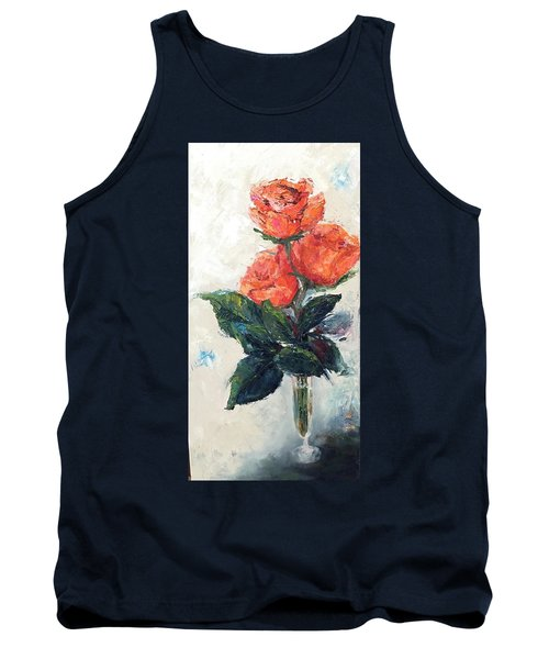 Jeannie's Roses Tank Top