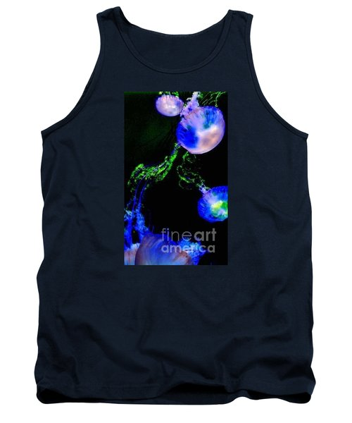 Tank Top featuring the photograph Jellylights by Vanessa Palomino