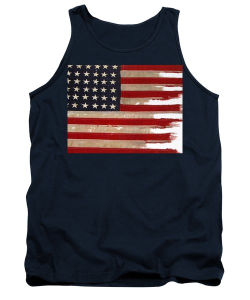 Jfk's Pt-109 Flag Tank Top