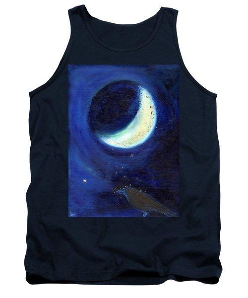 July Moon Tank Top by Nancy Moniz