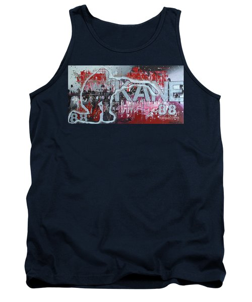Tank Top featuring the painting Kaner 88 by Melissa Goodrich