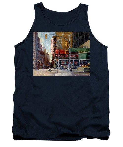 Katz's Delicatessen, New York City Tank Top