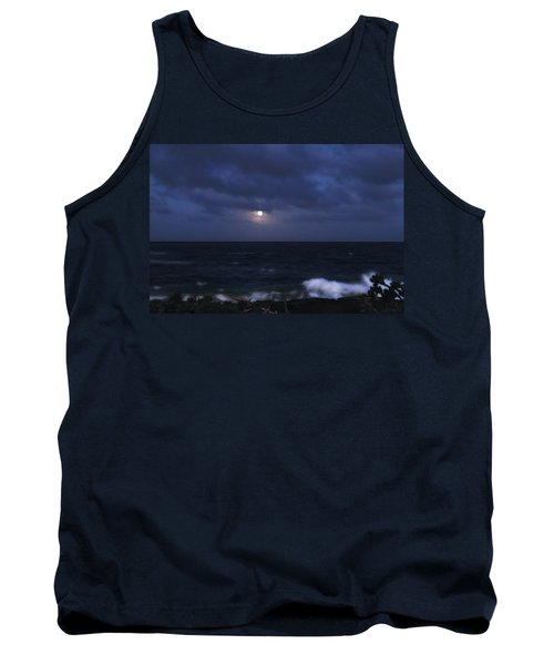 Kauai Moon At Poipu Tank Top