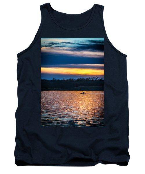 Kayak Sunset Tank Top