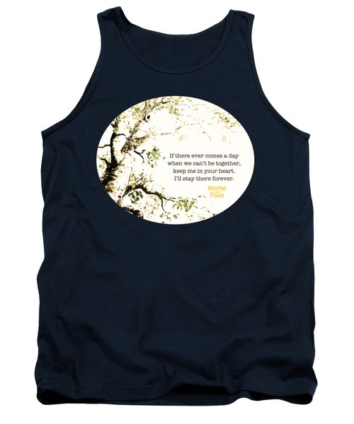 Keep Me In Your Heart Tank Top by Nancy Ingersoll