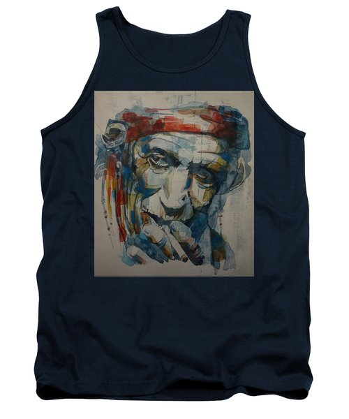 Keith Richards Art Tank Top