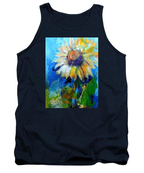 Kellie's Sunflower Tank Top
