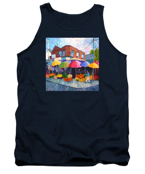 Kensington Market Tank Top by Diane Arlitt